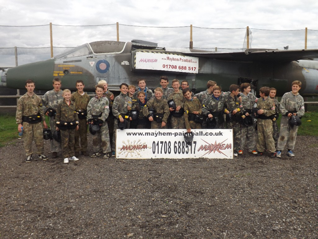 Paintball Mayhem Abridge