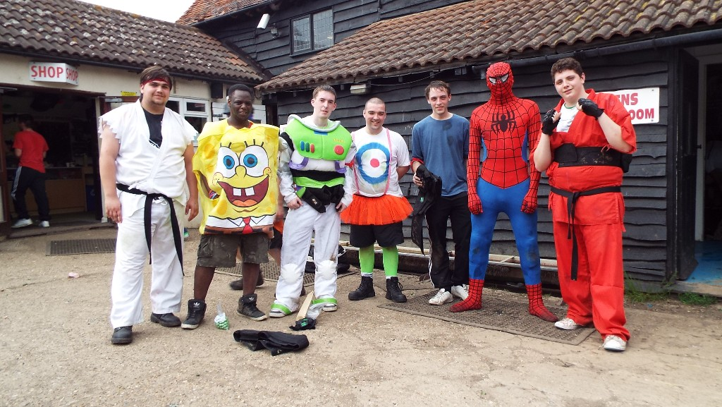 stag do fancy dress