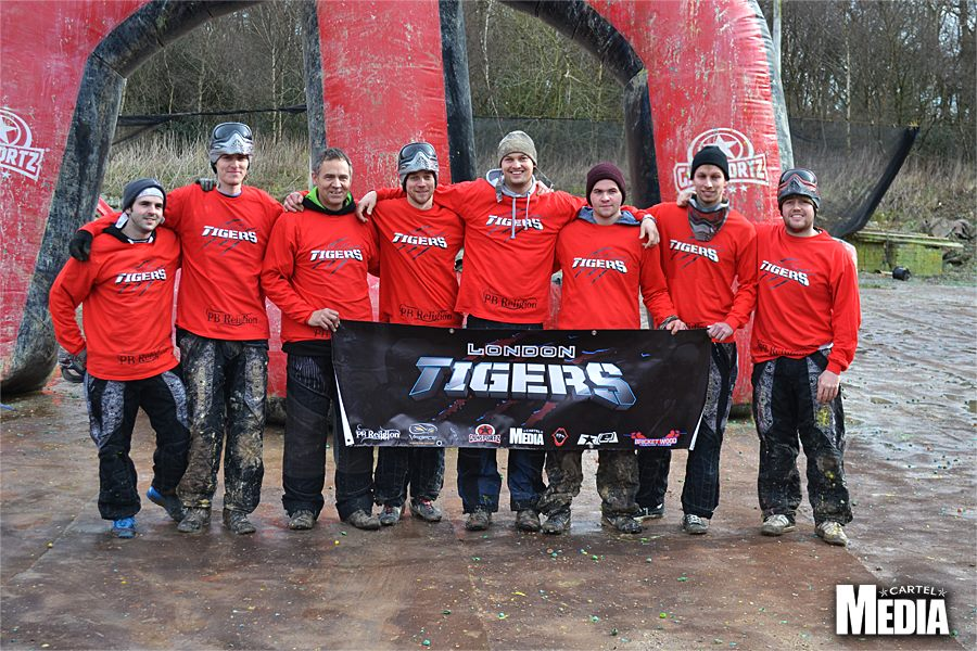 London Tigers Paintball Team