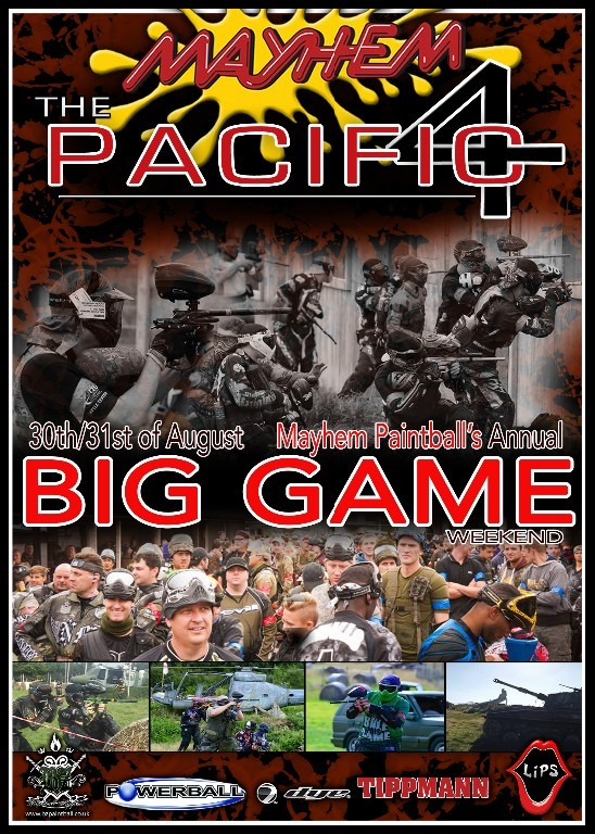Mayhem Big Game 2014 Flyer