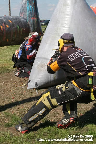 Ronnie Hollington paintballing in the NPPL
