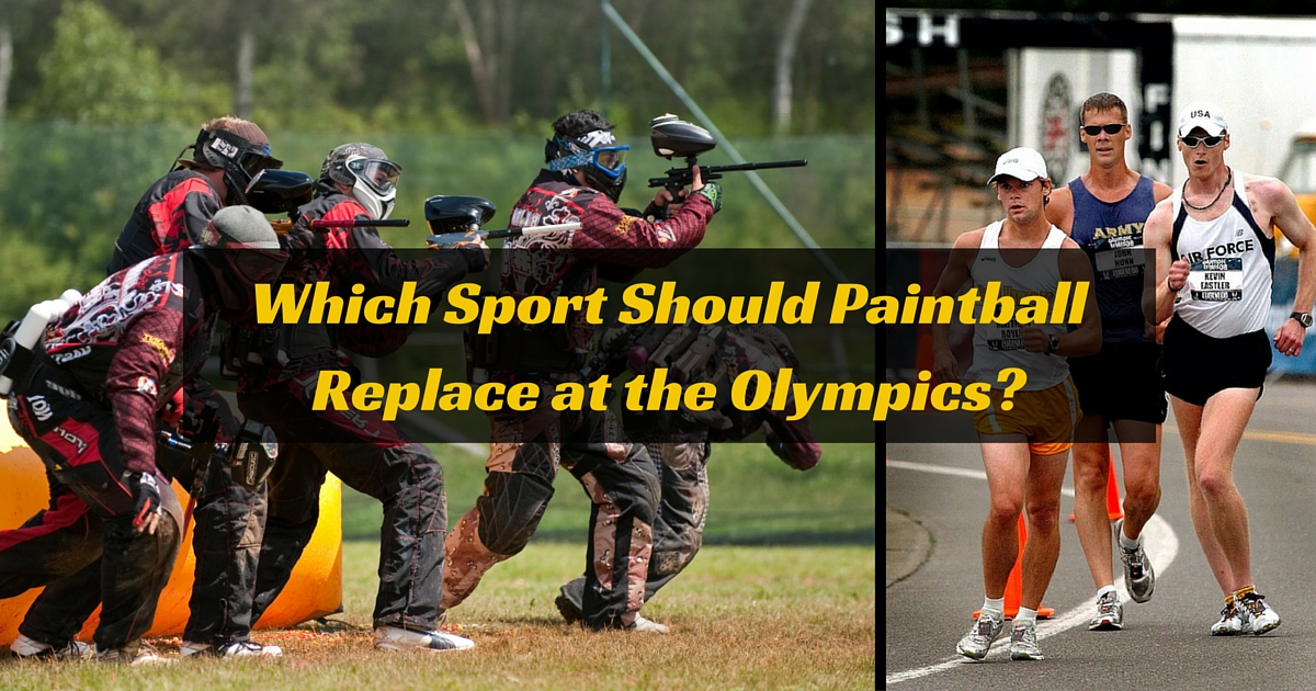 Which Sport Should Paintball Replace at the 2016 Olympics?